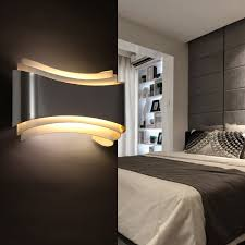 modern led wall sconce accent lighting fixture modern place led