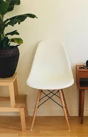 4 designklassiker esszimmer stühle ähnlich eames chair vitra
