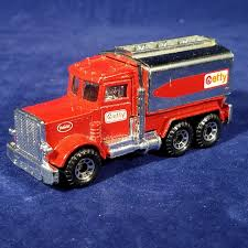 Matchbox Peterbilt Tanker Truck Red Diecast – Getty (1984, Macau ...