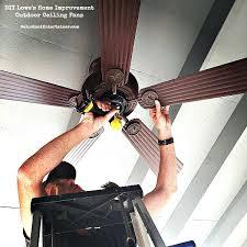 ceiling fan hunter white ceiling fan lowes shop allen roth