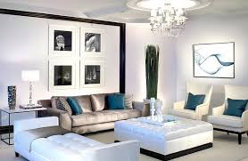 Teal Living Room Decor by Black And White Living Rooms Design Ideas
