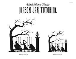 Disney Pumpkin Stencils by Crafty Thursdays Beware Of Hitchhiking Ghosts Haunted Mansion