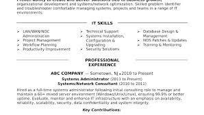 System Administrator Sample Resume Alluring Network Admin Samples For Transform About Doc Template Download Linux Cv
