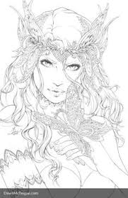 Coloring Pages Of Fairies See More Coloriage