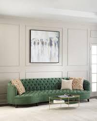 Tufted Velvet Sofa Bed by Designer Sofas U0026 Sectionals At Horchow