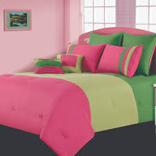 Hot Pink And Lime Green Bedding Beautiful Pink Decoration