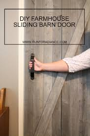 Diy Sliding Barn Door | Rustic Barn, Barn Doors And Barn Door Design Tips Tricks Great Sliding Barn For Classic Home How To Make Hdware Amazing Glass Doors Remodelaholic 35 Diy Rolling Ideas Your Own Wood Track Diy Masonite 42 In X 84 Zbar Knotty Alder Interior Architectural Accents For The Best 25 Door Hdware Ideas On Pinterest Brushed Steel Kit With Arrow Rails Lowes
