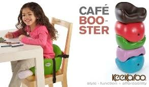 keekaroo cafe toddler booster seat for table