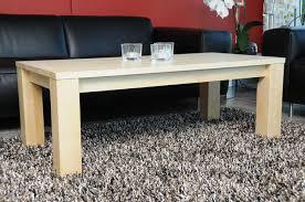 wohnzimmertisch ahorn 90x60cm massiv echtholz mit ohne