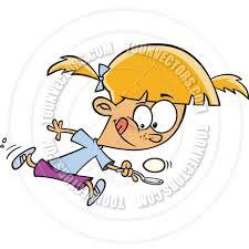 Cartoon Egg Race Girl
