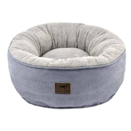 Tall Tails 88216970 Cat Donut Dog Bed, Charcoal - Small