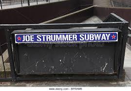 Joe Strummer Mural Address by Joe Strummer London Stock Photos U0026 Joe Strummer London Stock