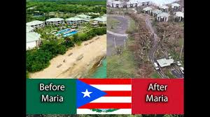 100 W Hotel Vieques Island Puerto Rico Before And After Hurricane Maria Floods Winds Church Damage Tourism