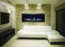 aquarium dans le mur aquarium ultra design