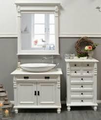 details zu waschtisch landhausstil weiß waschbeckenunterschrank mit waschbecken landhaus