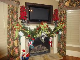 Halloween Fireplace Mantel Scarf by Decoration Wonderful How To Decorate A Mantel With Curtain Desig