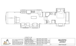 5th Wheel Toy Hauler Floor Plans by Toy Hauler Floorplans U2013 New Horizons Rv