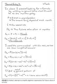 Sinking Fund Formula Derivation by Academic Onefile Document Mathematics For Teaching Insights