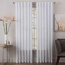 Bed Bath And Beyond Curtain Rod Rings by Buy Sheer Curtains From Bed Bath U0026 Beyond