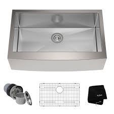 White Kitchen Sink 33x22 by Kraus Kitchen Sinks Kraususa Com