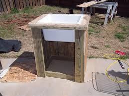 Best Outdoor Sink Material by Outdoor Sink Station Plans Best Sink Decoration