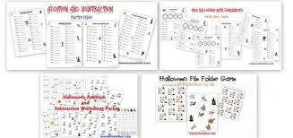 Halloween Multiplication Worksheets Grade 5 by Holiday Halloween Homeschool Den