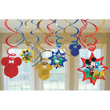 Mickey Mouse Birthday Party Supplies