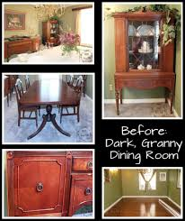 Dining Room Update Granny Fresh Paint Furniture