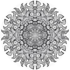 Printable Mandala Coloring Pages Advanced Level With New