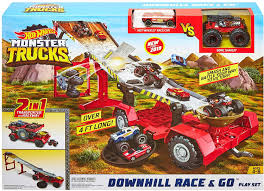 100 Monster Truck Decorations Hot Wheels S Downhill Race Go Playset