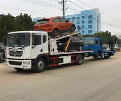 100 Wheel Lift Tow Truck Dongfeng Lhd 170hp Cheap Car Ing Recovery One Three Type