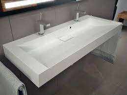 120cm waschbecken waschtisch doppelwaschbecken mit
