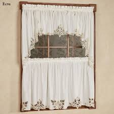 Country Curtains Greenville Delaware by Battenburg Lace Edge Tier Window Treatment