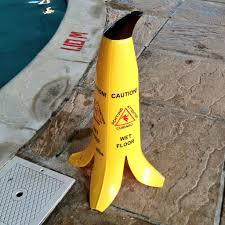 Caution Wet Floor Banana Sign by Banana Products Llc Thebananacone Twitter