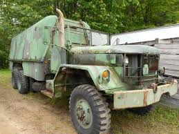 M811, 5 Ton Shop Van Truck SEORTM, WO/W, Year 1981,Very Good NSN ...