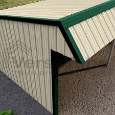 Metal Loafing Shed Kits by Single Slope Loafing Shed 12 X 42 X 10 8