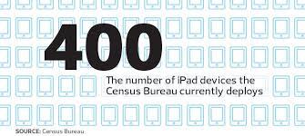 bureau of the census fema census bureau plan to go mobile and rationalize their device
