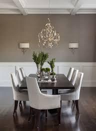 Hamptons Summer Home Transitional Dining Room