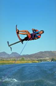 free water ski photos hydrofoil back roll by mike murphy