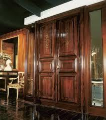 tür für mauerwerk in mahagoni für luxus wohnzimmer idfdesign