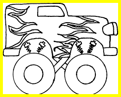 Collection Of Free Drawing Kids Monster Truck. Download On UbiSafe