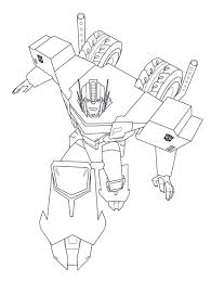 Transformer Dinosaur Coloring Page Transformers Rescue Bots