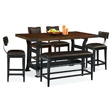 Table And 2 Chairs Dining Room Furniture Counter Height Stools