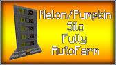 Minecraft Automatic Pumpkin Farm 1710 by Automatic Pumpkin U0026 Melon Farm Minecraft 1 8 Youtube