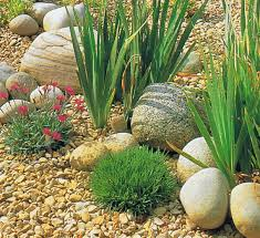Diy Pea Gravel Patio Ideas by Nice Use And Placement Of Medium And Small U0027pebble U0027 Type Stones In