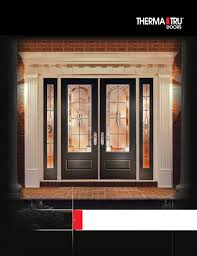 Therma Tru Patio Doors by Therma Tru Entry Doors By Meek U0027s Lumber U0026 Hardware Issuu
