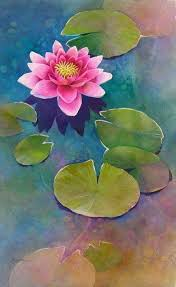 Lily pads Painting and such Pinterest