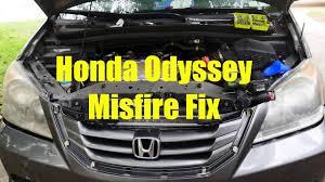 Malfunction Indicator Lamp Honda Odyssey by Honda Misfire Check Engine Light Flashing Tsa Light On Fix Part 1