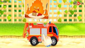 Fire Truck Cartoons For Children, Firetrucks Rescue, Car Cartoons ...