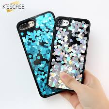 KISSCASE Bling Dynamic Sequin Phone Cases For iPhone 6 7 6S Plus